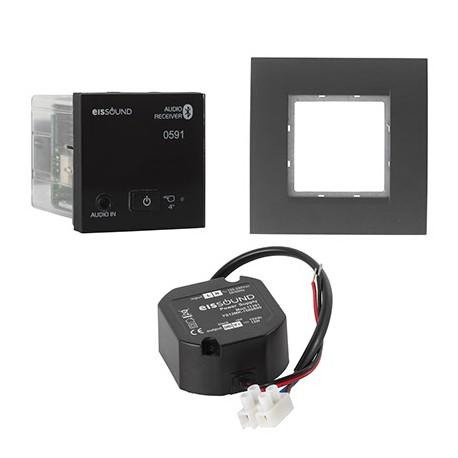 KB Sound Audio Receiver Odtwarzacz Bluetooth In-Wall Czarny 52957