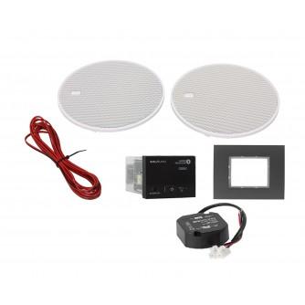 KB Sound Audio Receiver Odtwarzacz Bluetooth In-Wall Czarny Z Głośnikami 5' 52959