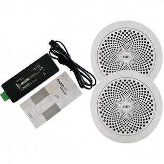 KB SOUND BASIC BT PACK Zestaw Bluetooth Z Białymi Głośnikami Do Zabudowy 50A04
