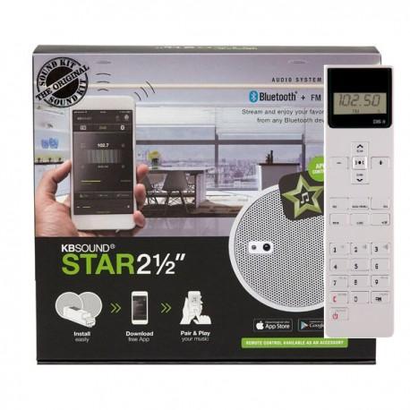 KB SOUND STAR 2,5 RADIO BIAŁE GŁOŚNIKI 50804