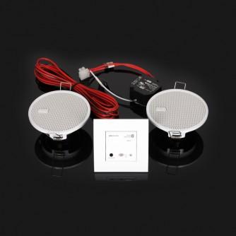 KB Sound Audio Receiver Odtwarzacz Bluetooth In-Wall Biały 52907