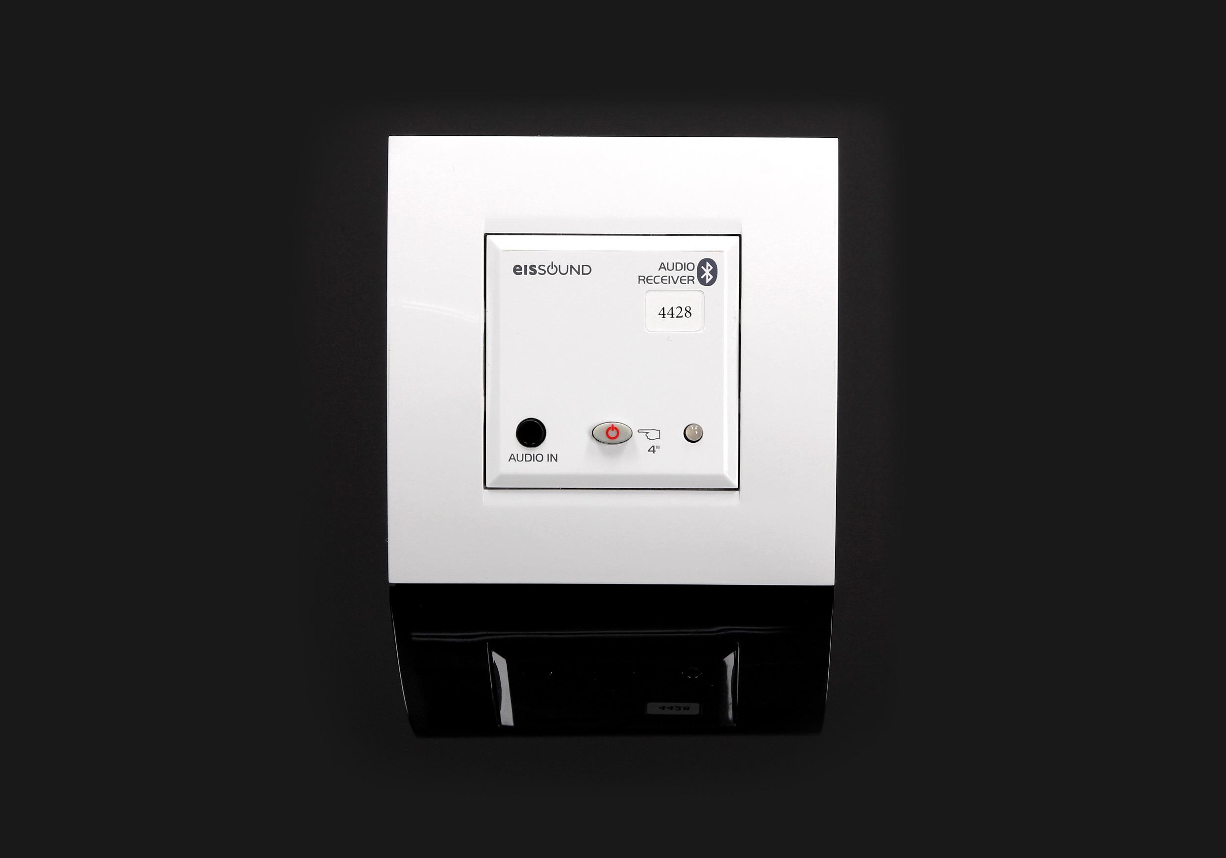 Jednostka sterująca systemu nagłośnienia Bluetooth In-Wall Eis Sound do kuchni