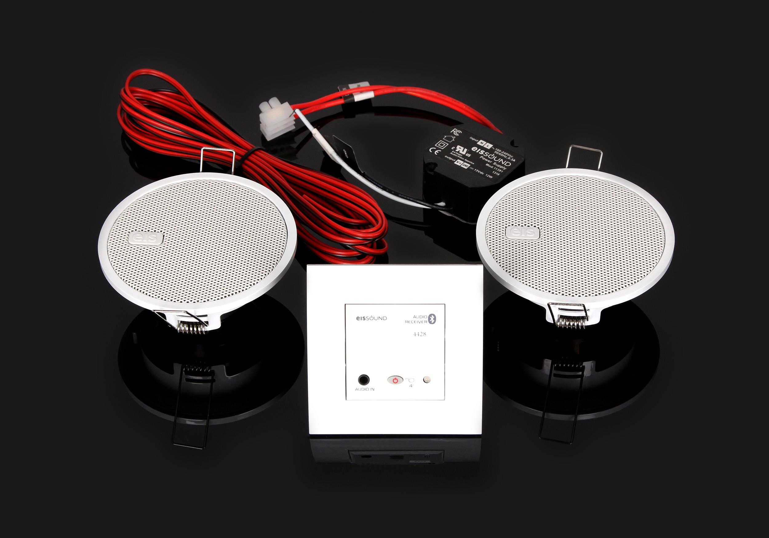 Kompletny zestaw nagłośnienia Bluetooth do kuchni Eis Sound In-Wall