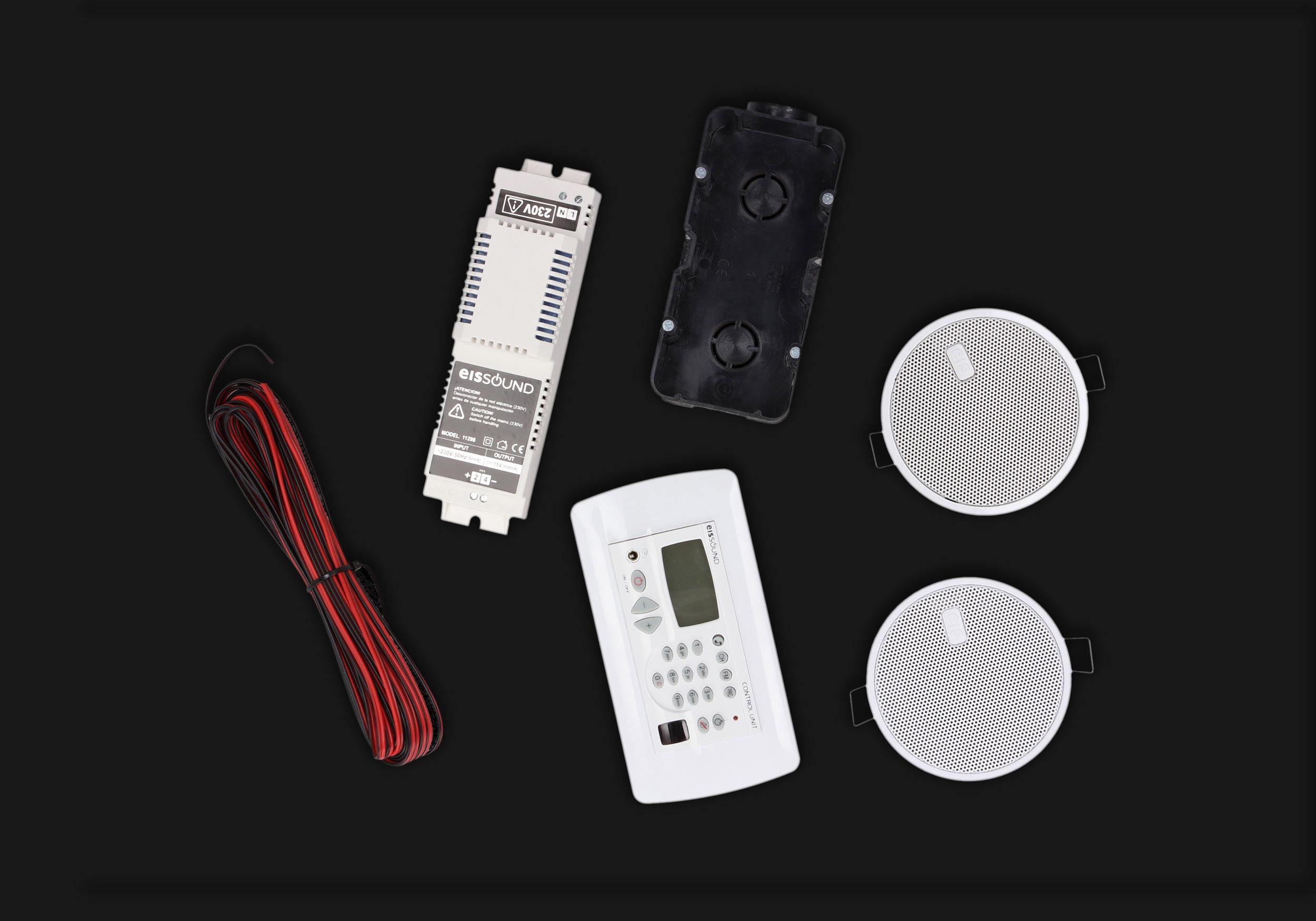 Eis Sound zestaw radia łazienkowego KB Sound Premium