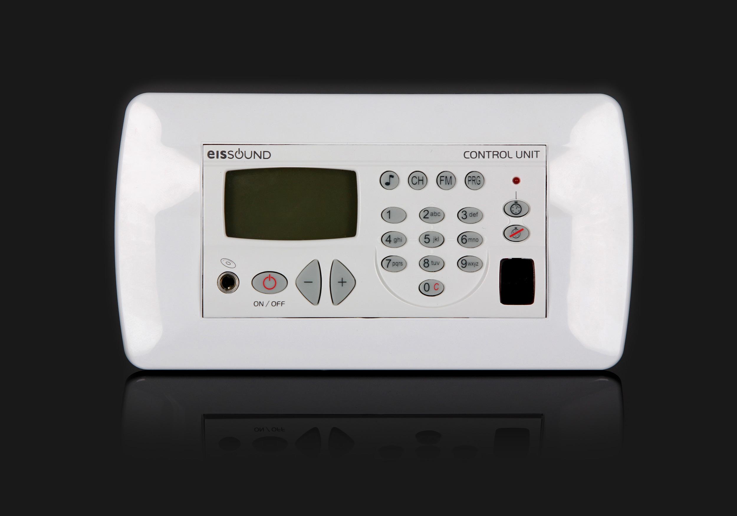 Biała ramka ozdobna do radia kuchennego KB Sound Premium