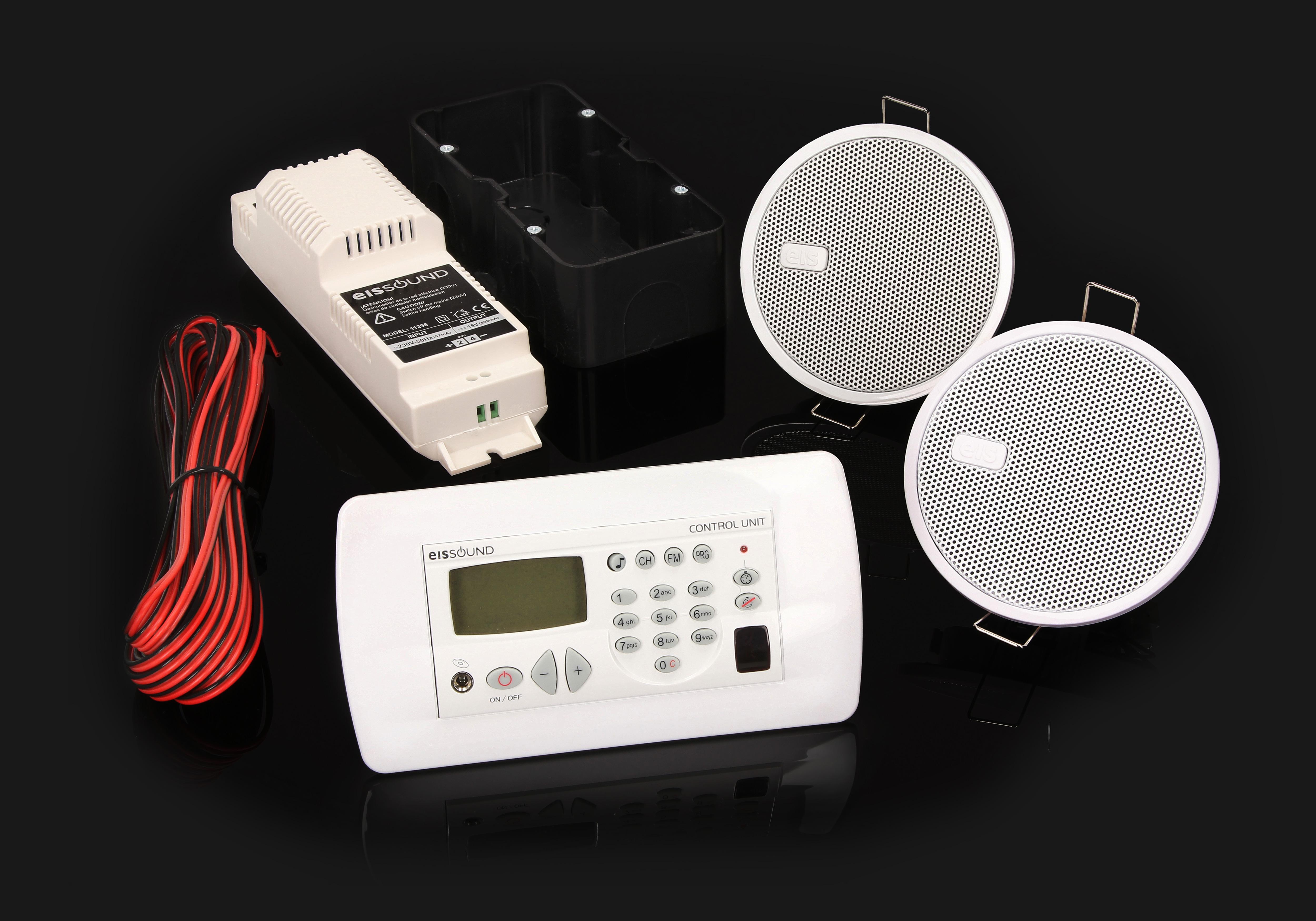 Eis Sound Premium zestaw radia kuchennego do montażu w ścienia