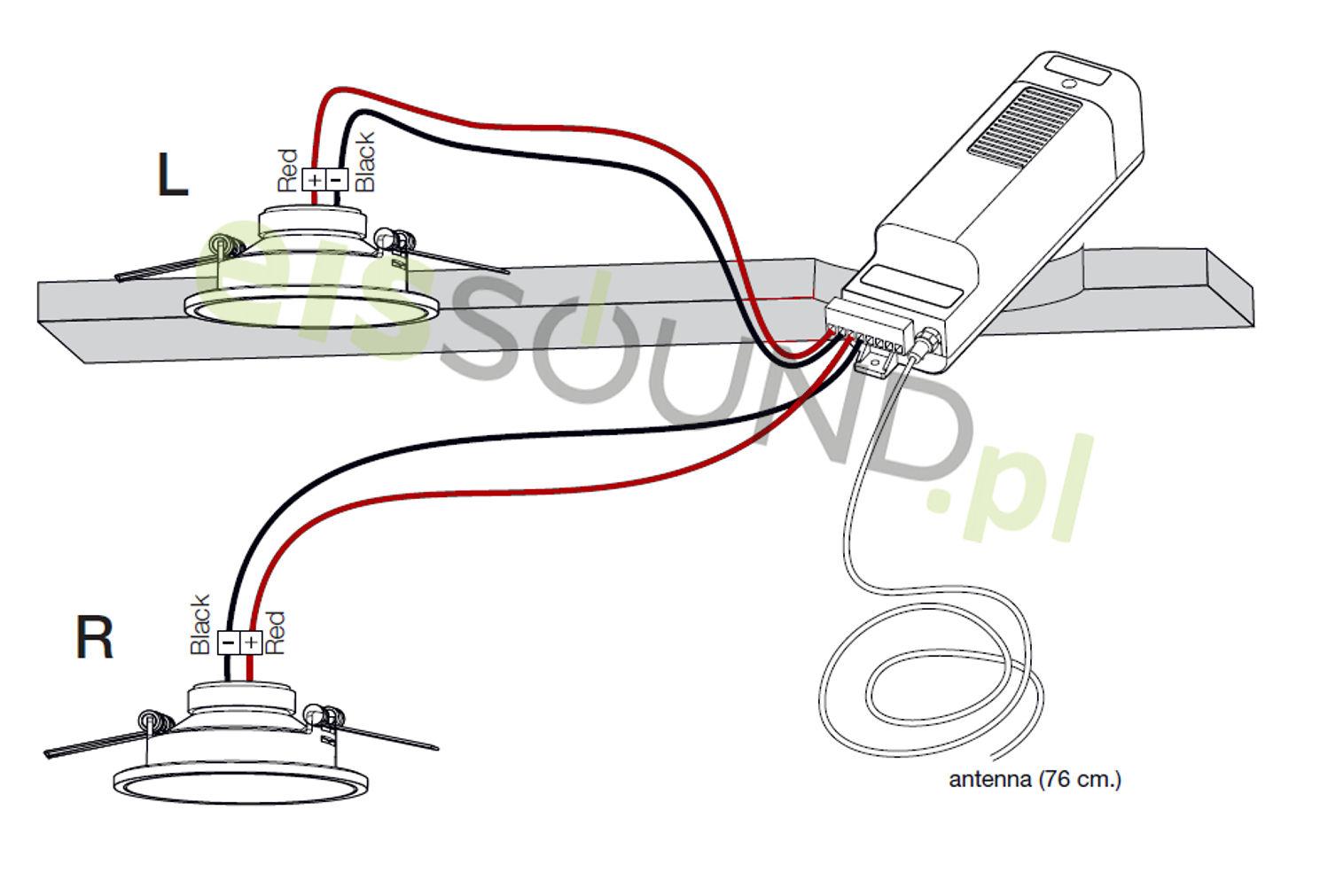 instrukcja montażu radia kuchennego KB Sound
