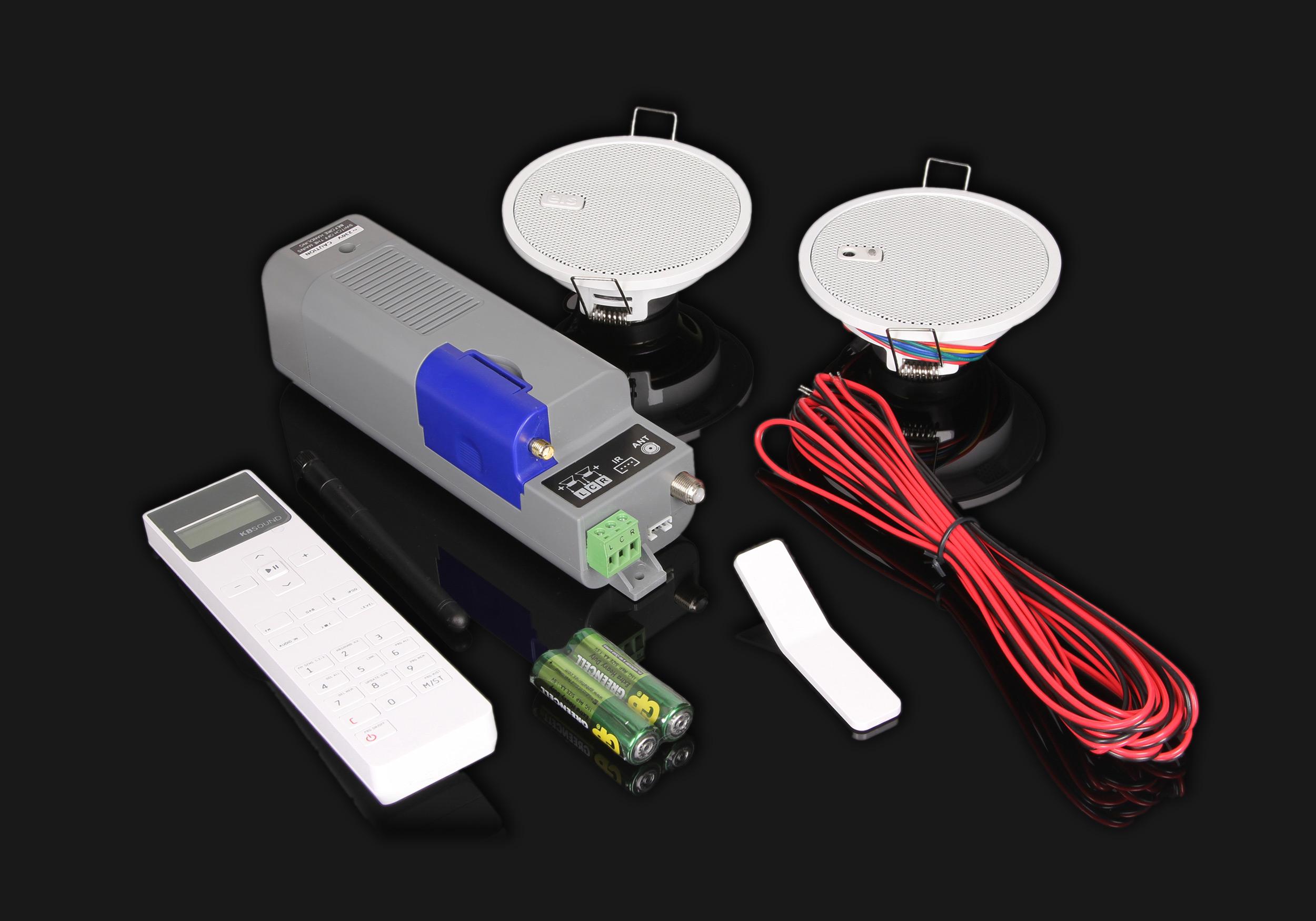 radio cyfrowe do zabudowy z modułem Bluetooth
